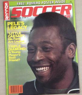 Soccer Corner Magazine October 1980