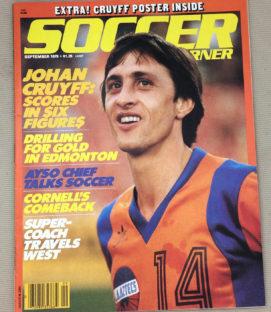 Soccer Corner Magazine September 1979