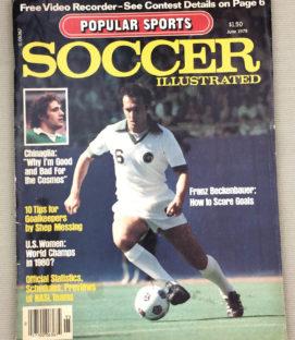 Soccer Illustrated Magazine June 1979