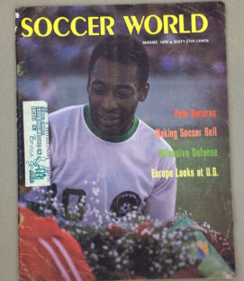 Soccer World Magazine August 1975