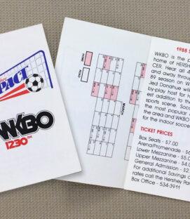 1988 NPSL Hershey Impact Schedule