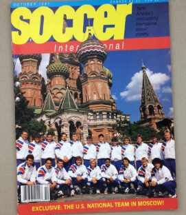 US Soccer International Magazine Oct 1991 Issue