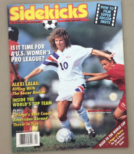 Soccer Sidekicks Magazine April May 1994 Issue