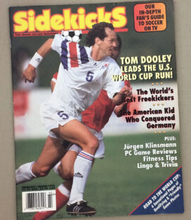 Soccer Sidekicks Magazine Feb March 1994 Issue