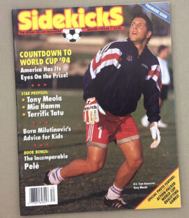 Soccer Sidekicks Magazine Winter 1993-94 Issue
