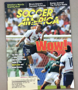 Soccer America July 2002 Issue