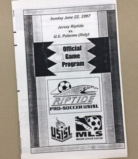 New Jersey Riptide 1997 Program