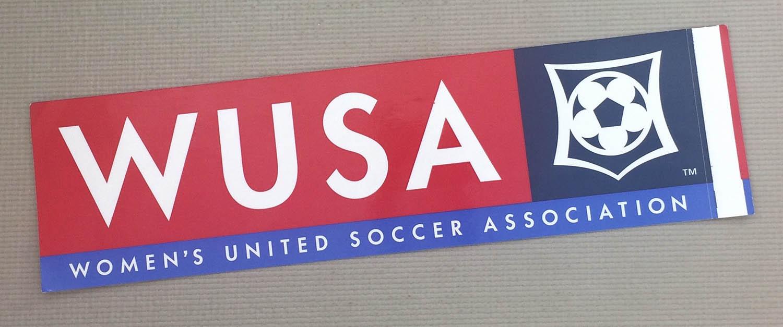 Womens United Soccer Association Bumper Sticker