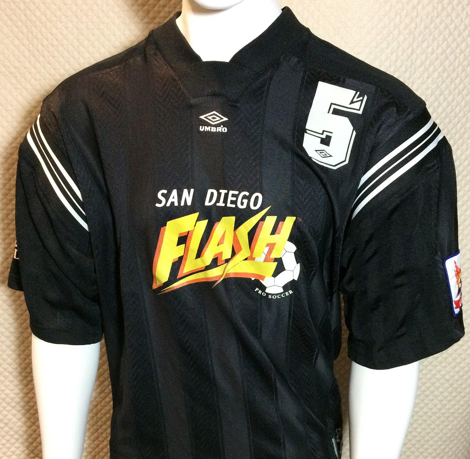 San Diego Flash 1999 A-League Jersey