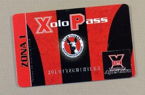 2009 Apertura XoloPass