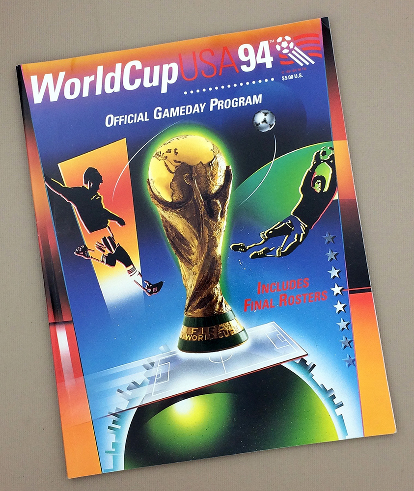 World Cup '94 Official Game Program