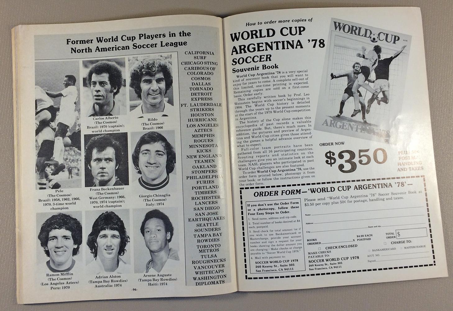 Rildo, Beckenbauer, Chinaglia, Pele