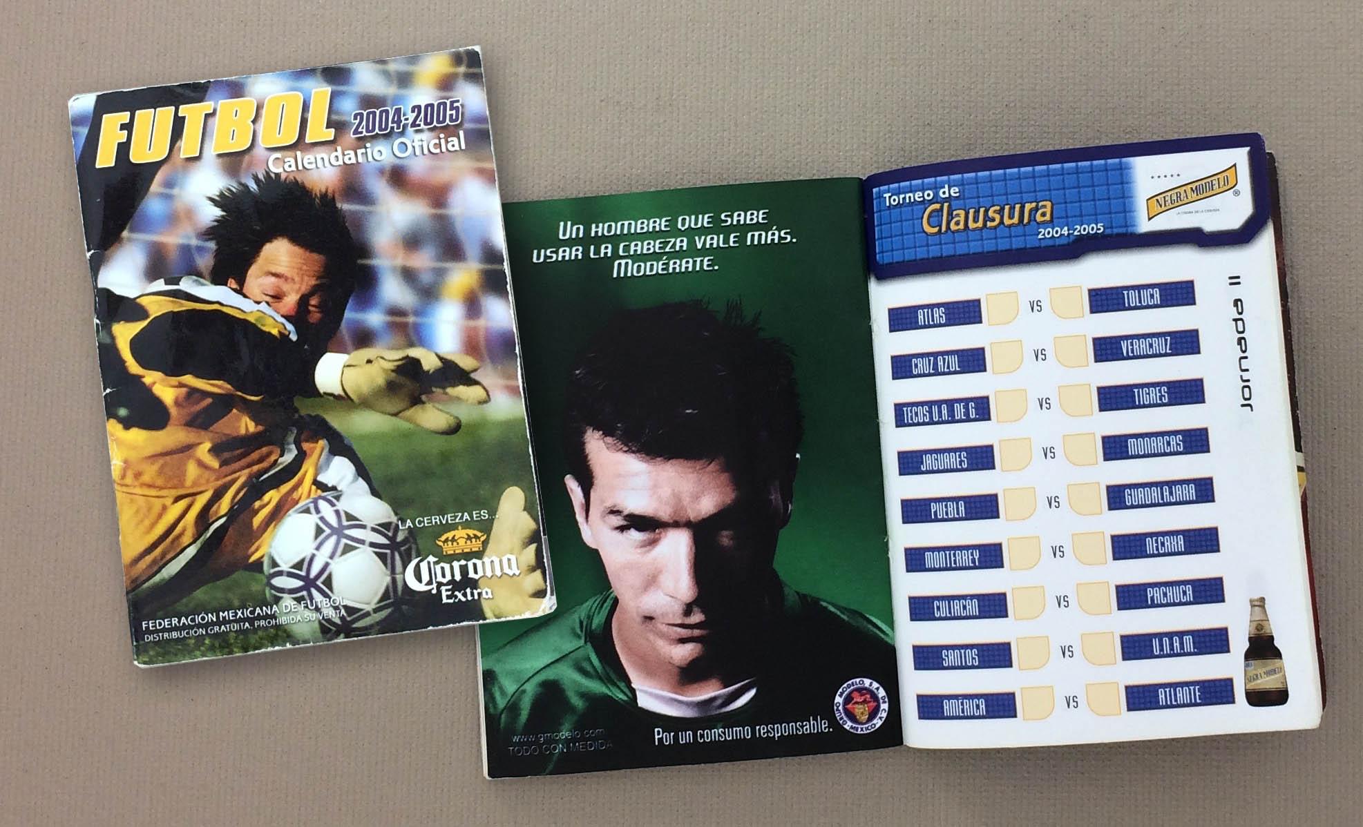 2004-05 Liga MX Schedule Guide