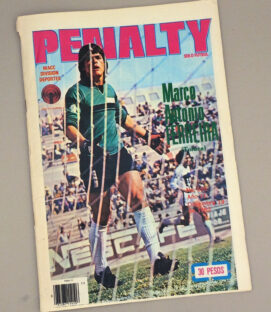 Penalty Mexican Soccer Mag 1982
