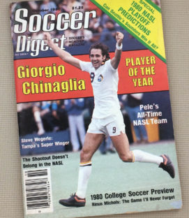 Soccer Digest October 1980