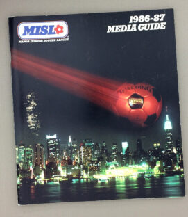 Major Indoor Soccer League 1986-87 Media Guide