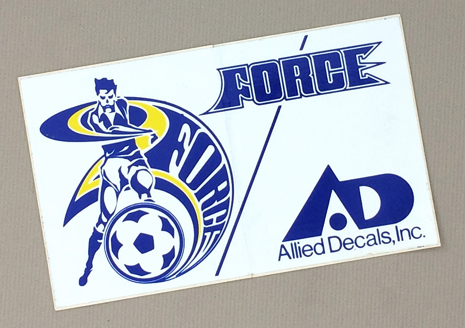 Cleveland Force Decal