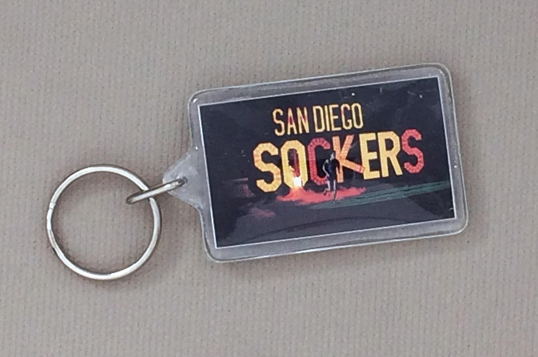 San Diego Sockers 1980s Keychain