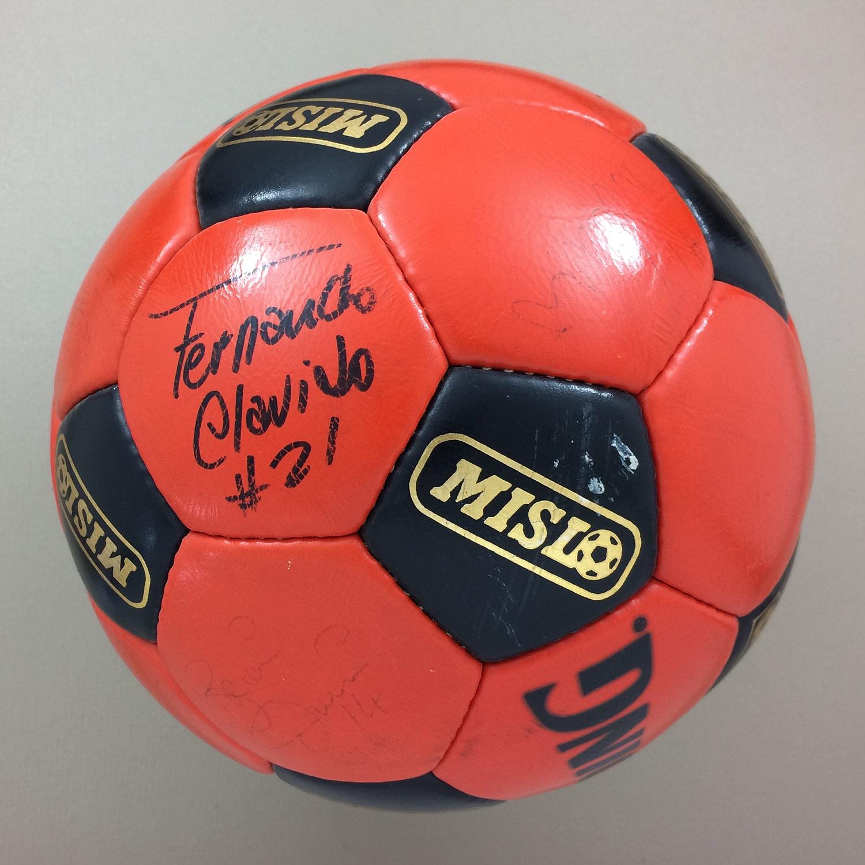 San Diego Sockers Autographed MISL Ball