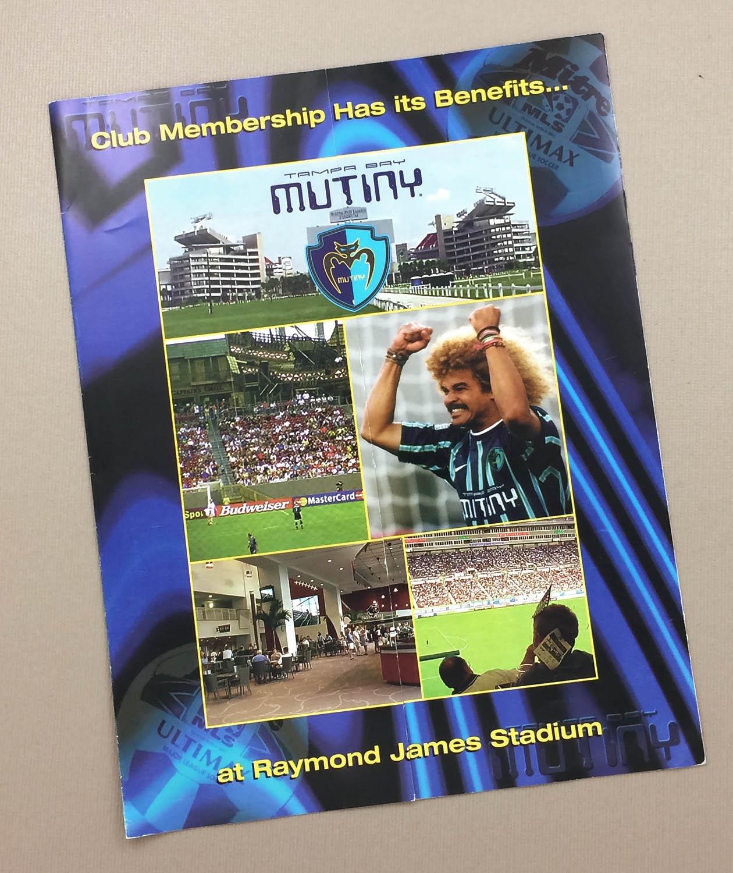 Tampa Bay Mutiny 2000 Ticket Brochure
