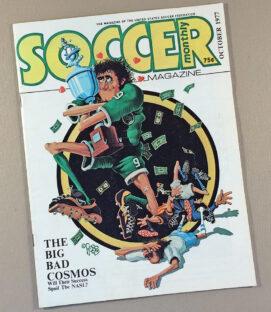 Soccer Monthly Magazine October 1977