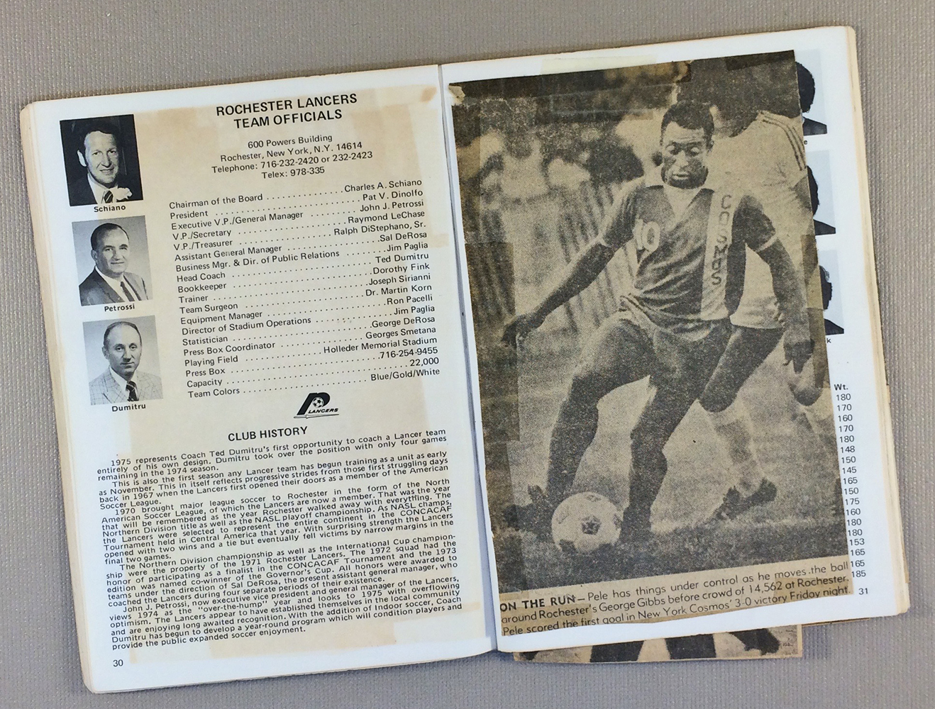 New York Cosmos, Rochester Lancers