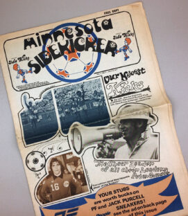 Minnesota Kicks 1977 Tabloid