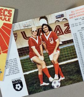 Los Angeles Aztecs 1976 Team Schedule