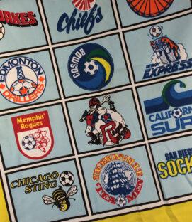North American Soccer League Logo Cloth