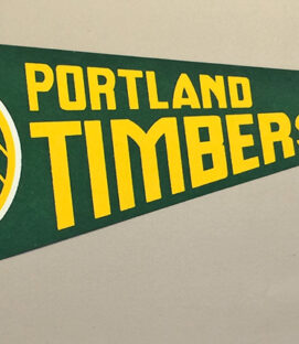 Portland Timbers 1980 Team Pennant