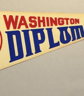 1978 Washington Diplomats Team Pennant