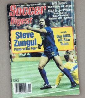 Soccer Digest November 1985