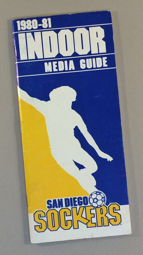 San Diego Sockers 1980-81 Media Guide