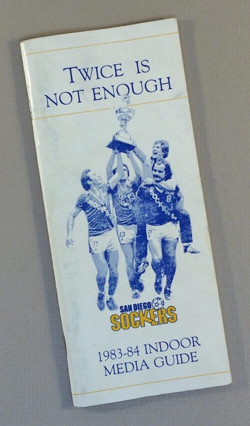 San Diego Sockers 1983-84 Media Guide