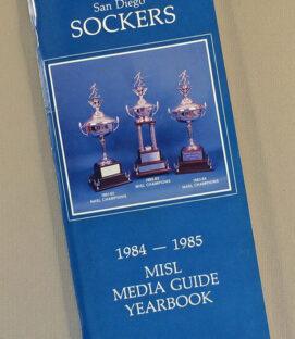 San Diego Sockers 1984-85 Media Guide