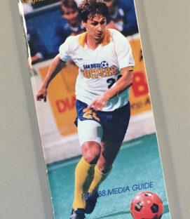 San Diego Sockers 1987-88 Media Guide