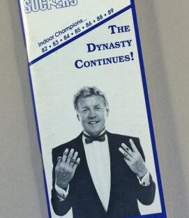 San Diego Sockers 1989-90 Media Guide