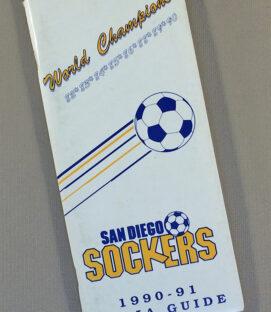 San Diego Sockers 1990-91 Media Guide