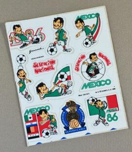 Mexico World Cup 1986 Sticker set