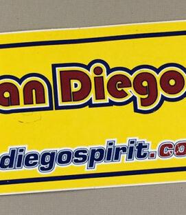 San Diego Spirit Bumper Sticker