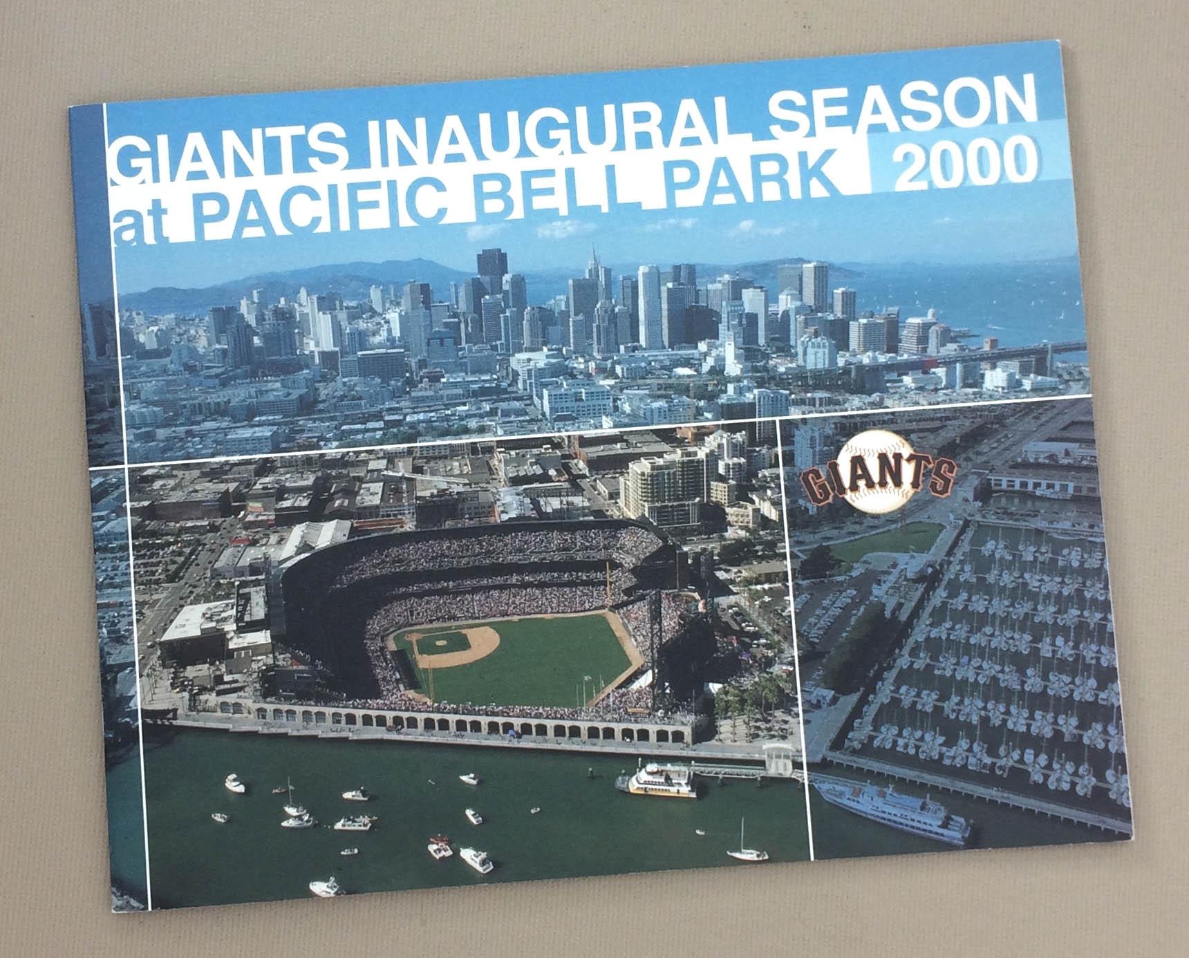 Inaugural Season Pacific Bell Park