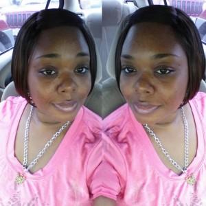 A Black Hair and Skin Care Customer