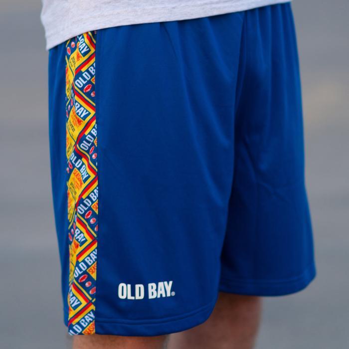 c2138c9415 Old Bay Can Pattern Sides (Royal) / Running Shorts (Men)