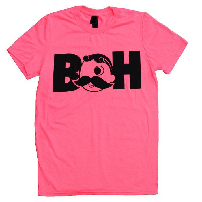 9bf2f4b7e Basic Boh Logo Text (Neon Pink) / Shirt