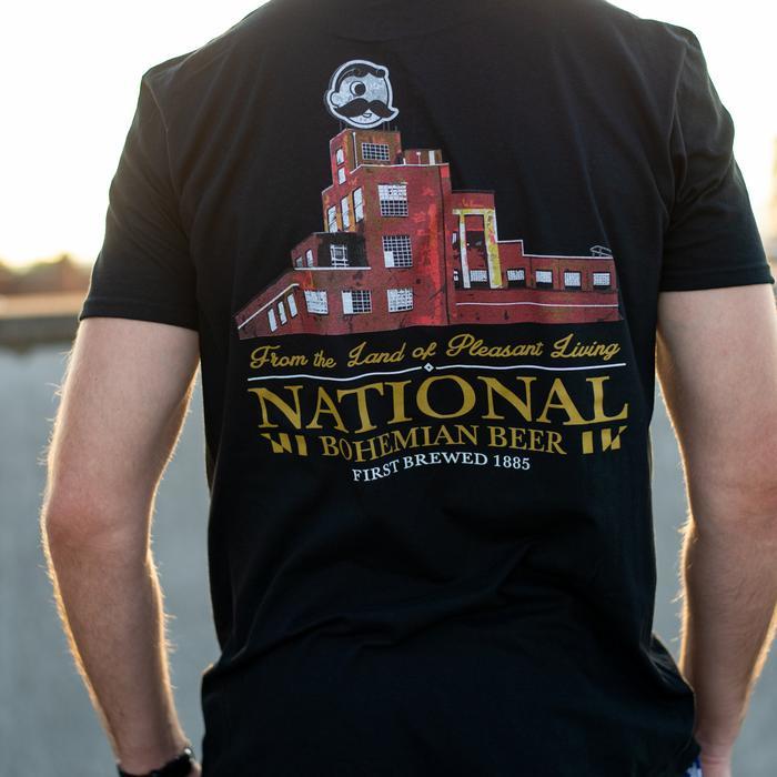 f7f7f80b Brewer's Hill - National Bohemian Beer (Black) / Shirt