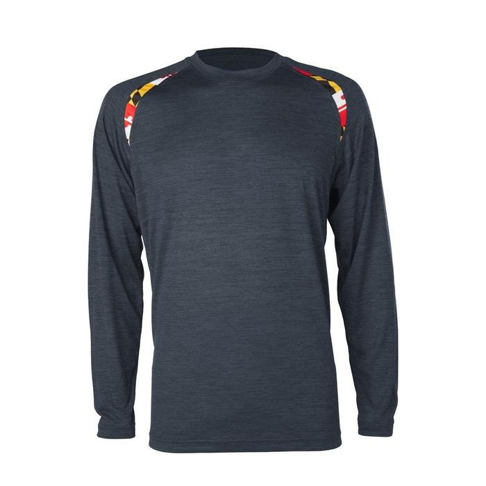 6c1c9df2 Maryland Sport (Graphite) / Long Sleeve Shirt