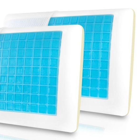 Super Sleeper Pro Cooling Gel Memory Foam Pillow