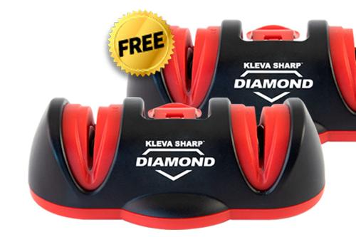 NEW Kleva Sharp Diamond BUY 1 Get 1 FREE + 2 FREE Garnishing Duo Packs + FREE POSTAGE!