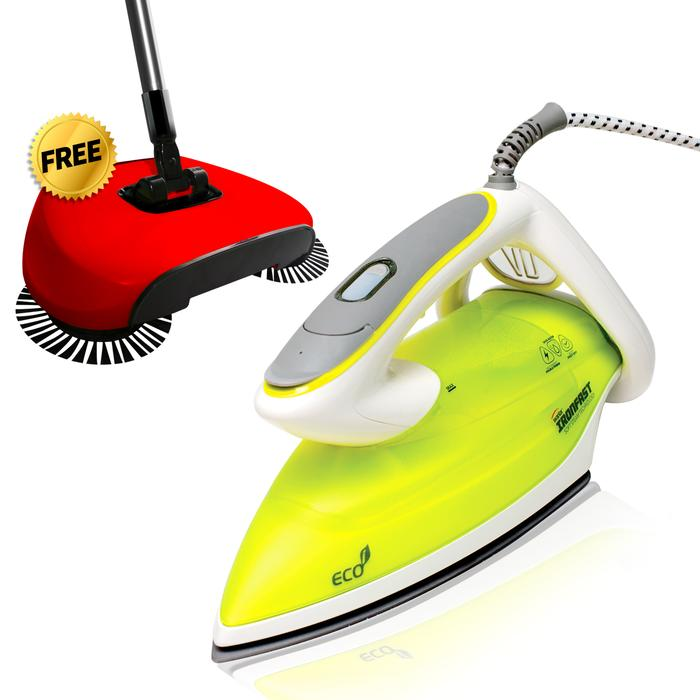 Cut Your Ironing Time in HALF! - The All New Iwantar Ironfast UV Iron! PLUS FREE Swifty Sweep