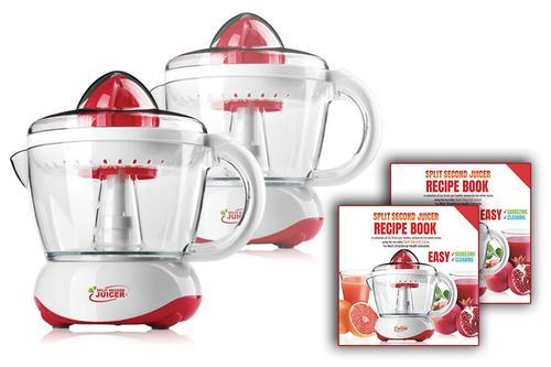 Kleva Citrus Juicer Buy 1 Get 1 FREE! With FREE Recipe Book!